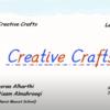 شرح الدرس الاول الدرس لمادة اللغة الانجليزية الصف السادس Creative Crafts