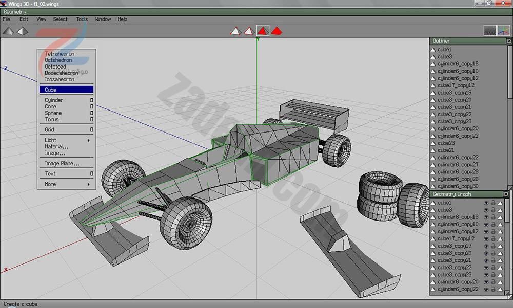 اكثر من 10 برنامج مجاني لتصميم النماذج ثلاثية الأبعاد