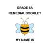 كتيب خطة علاجية انجليزي للصف السادس