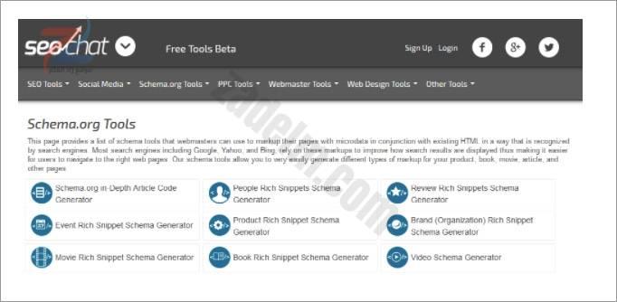 أدوات تحسين محركات البحث SEO مخطط 6