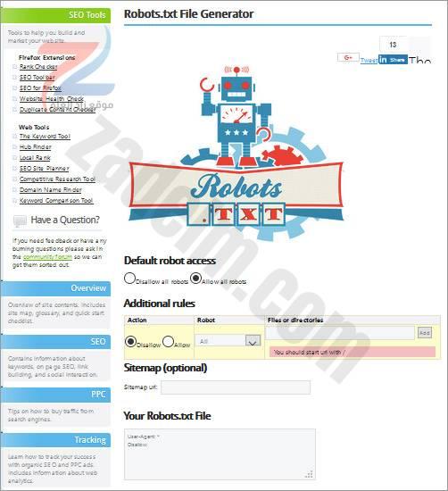 الروبوتات-أدوات-تحسين محركات البحث -9