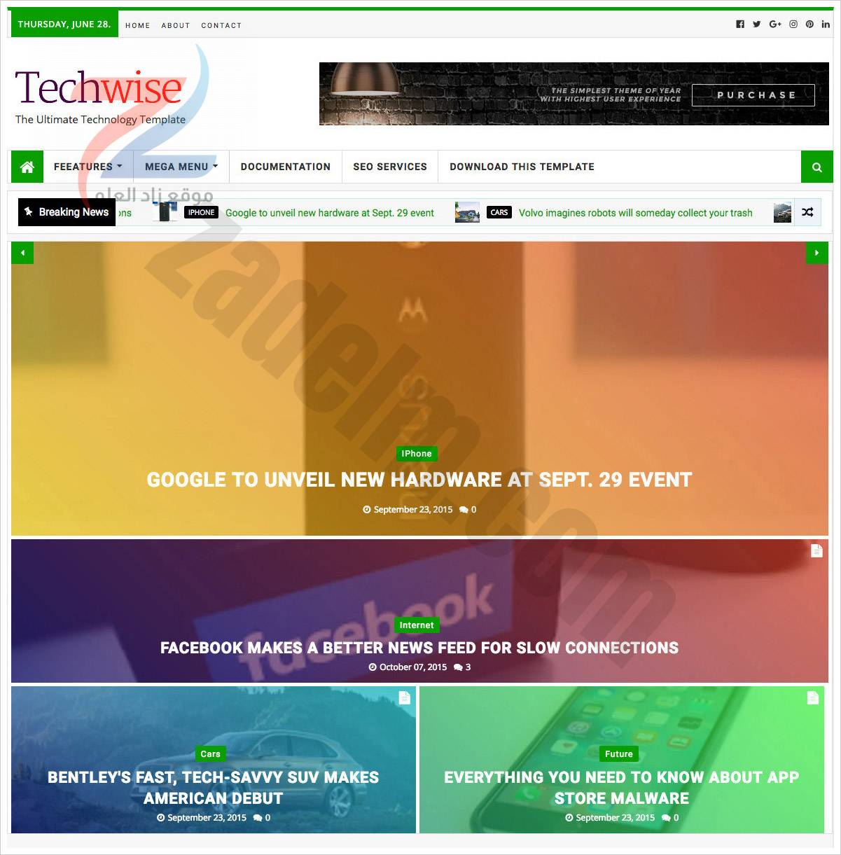 TechWise-Blogger-Template