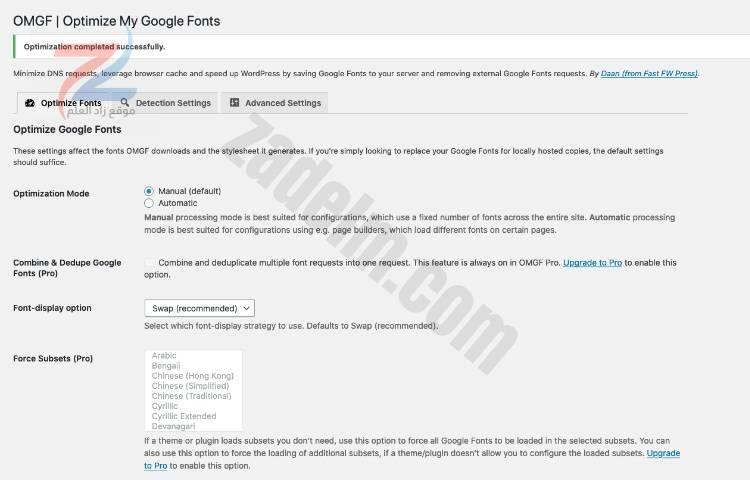 استضافة خطوط جوجل