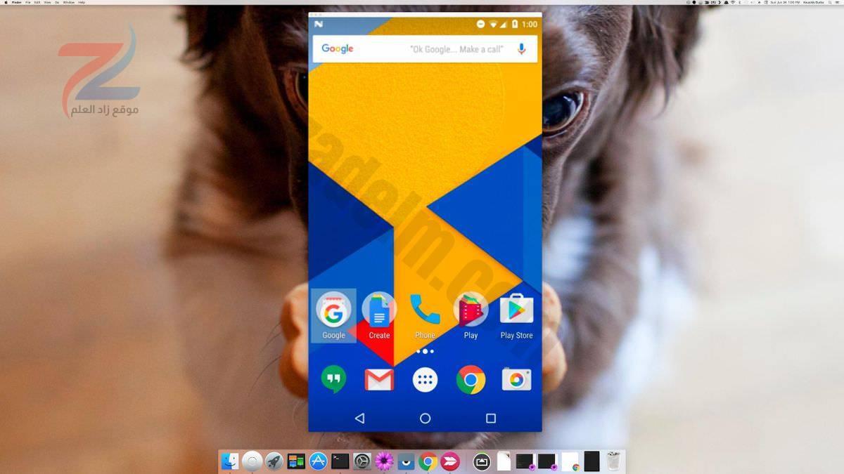 Vysor يعكس Android في macOS