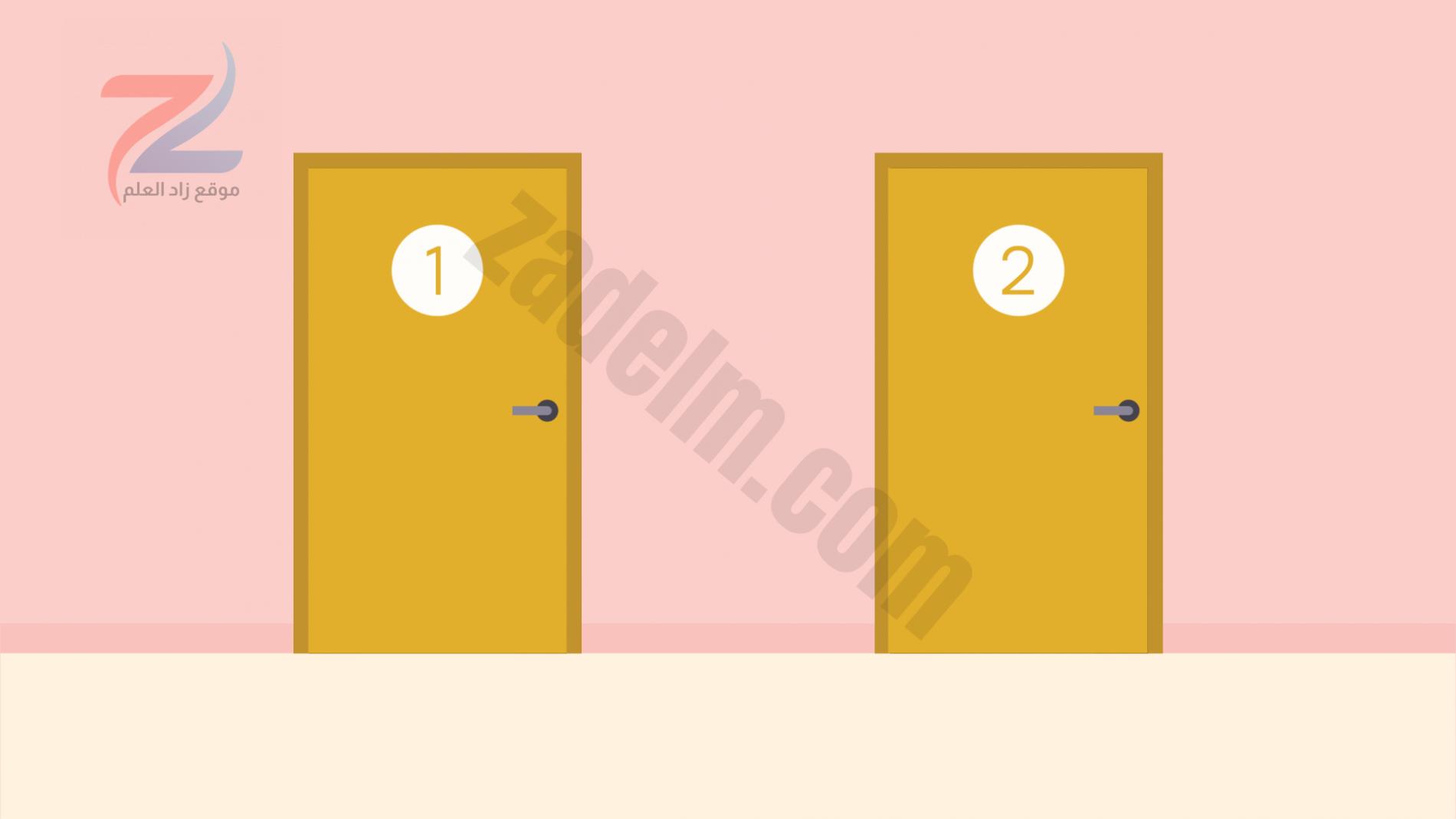 الباب 1 والباب 2