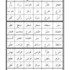 ملخص القاعدة البغدادية لمادة اللغة العربية