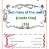 ملخص كتاب اللغة الانجليزية للصف الاول الفصل الثاني