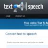 موقع مجاني لتحويل النص الى كلام