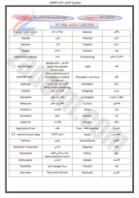 كراسة شرح مفردات (THEME 2) للثاني عشر