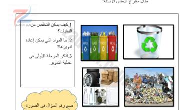 دليل المعلم لمادة اللغة العربية للصف السادس القراءة